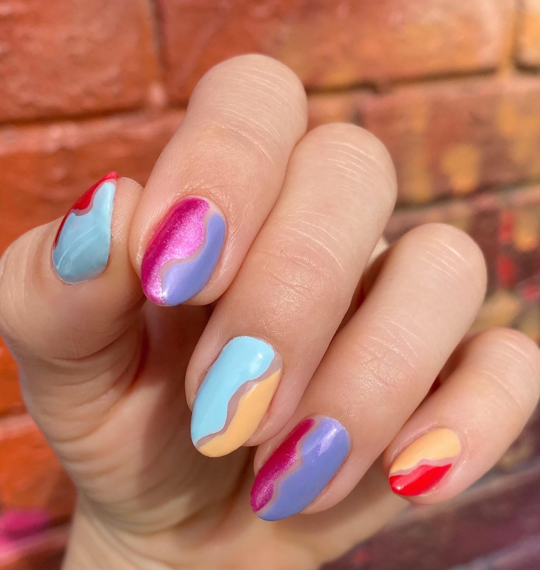 Julie Kandalec DIY nail pic